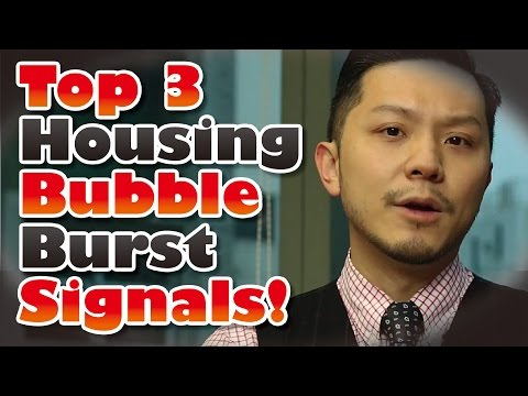 Top 3 Housing Bubble Burst Signals YOU MUST KNOW!!!!! | Investing 101