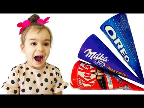 София хочет вкусное мороженное - история для детей