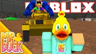 Roblox Car Crushers 2 - DERBY WITH A GOLDEN EVIL TANK!
