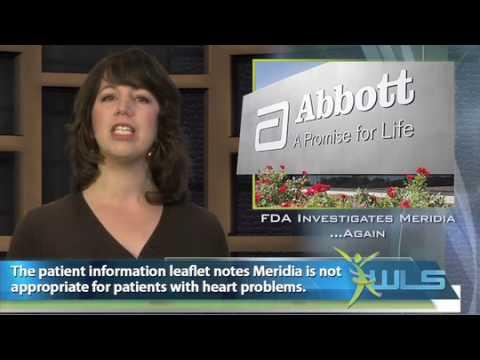 Fda Investigates Meridiaagain