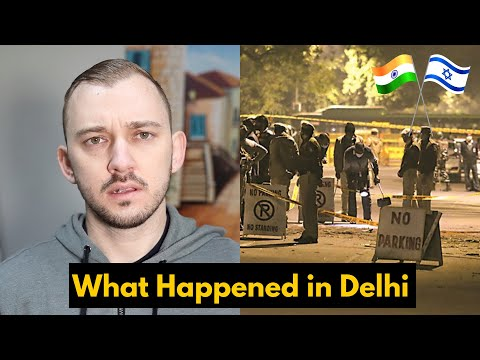 Attack On Israel Embassy In India 🇮🇳🇮🇱