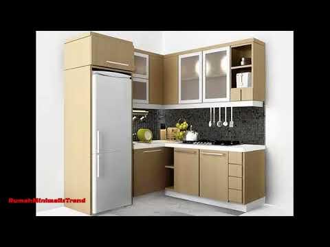 Contoh Desain Dapur Minimalis Ukuran 2x2 Dan 2x3 Terbaru Youtube