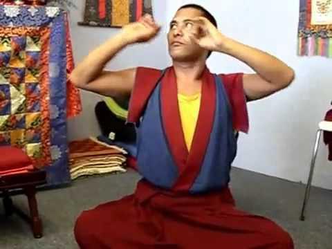 4 Практика Цалунг в исполнении Lama Yong Tong Tenzin