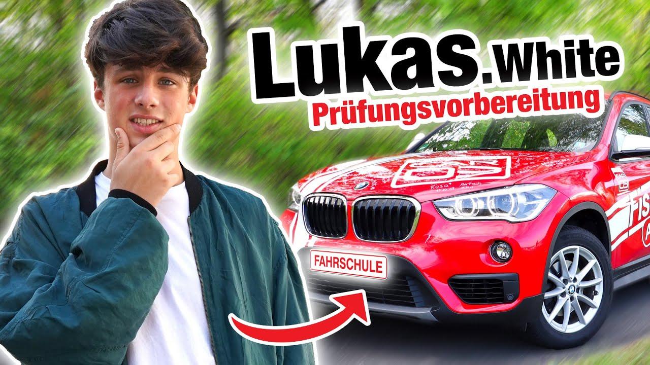 Prüfungsvorbereitung mit Lukas White 😲 (inkl. AUTOBAHN) | Fischer Academy