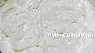 Сметанный крем из нежирной сметаны – рецепт Бабушки Эммы