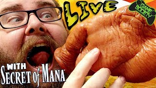 Secret of Mana (& EATING A PIG'S HEAD) LIVE - Game Society