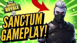 ¡SanCTUM Skin Gameplay! En Fortnite Battle Royale