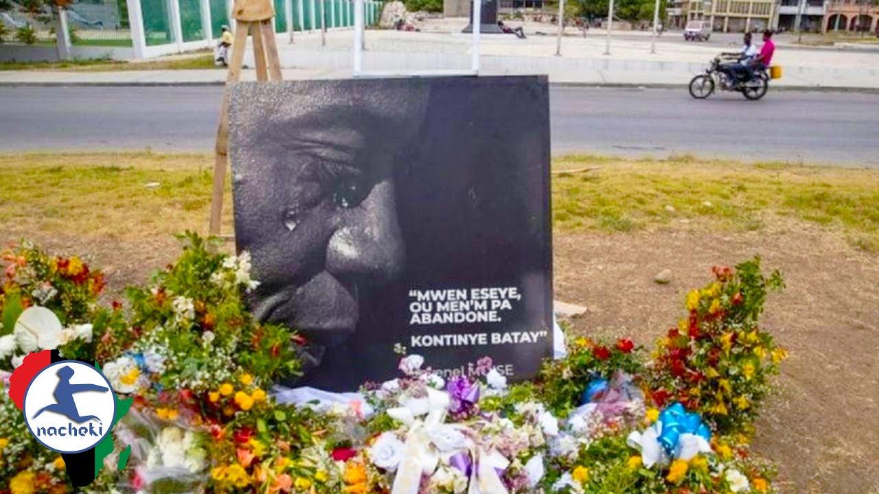 Sad Somber Memorial Service for Assassinated Haiti President Moise held in Port-au-Prince