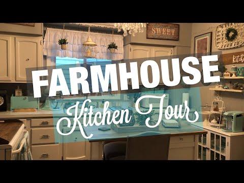 Farmhouse Kitchen Tour 2019   Farmhouse Style