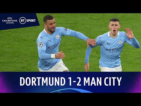 Dortmund v Man City (1-2) | Foden Fires Winner As Citizens Progress | Champions League Highlights