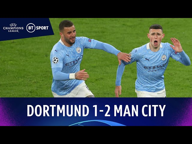 Dortmund v Man City (1-2) | Foden Fires Winner As Citizens Progress | Champions League Highlights