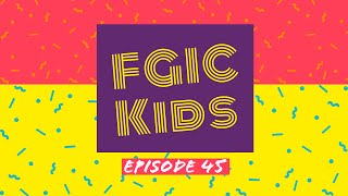 FGIC Kids: Ep 45 - Encouraging Thought, Get Movin' & Cowboy Drawing