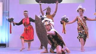 Malaysian traditional dance and song -JATA Tourism EXPO Japan(ツーリズムEXPOジャパン2015)-