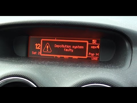 peugeot 308 depollution system faulty error code p1340 diagnostic