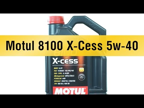 motul 8100 x cess 5w 40 youtube. Black Bedroom Furniture Sets. Home Design Ideas