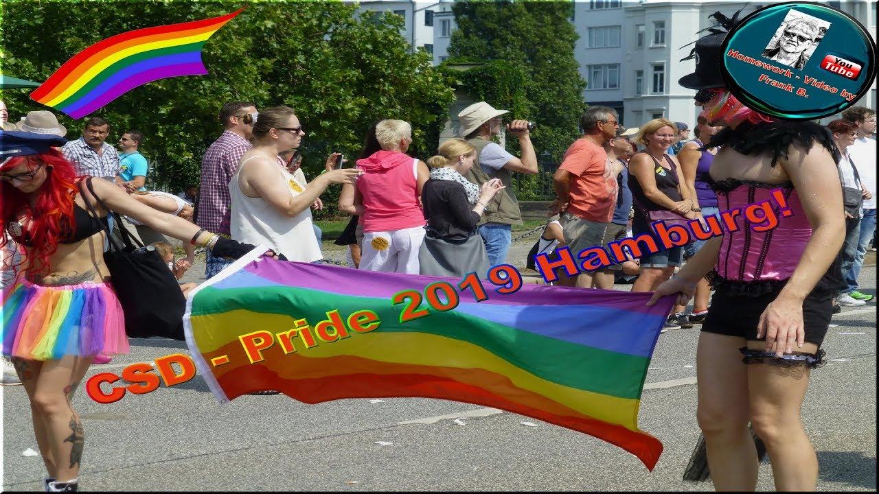 CSD Pride Hamburg 2019   4Kᵁᴴᴰ - YouTube