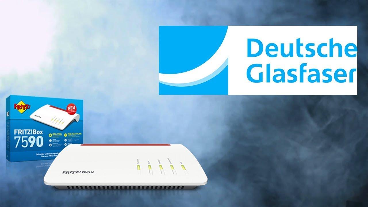 Deutsche Glasfaser - Grundeinstellungen Fritz!Box 10