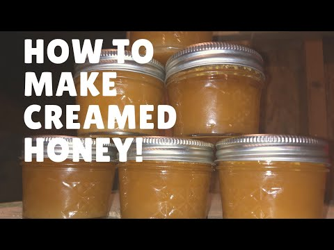 Delicious Creamed Honey!! (what Is It And How To Make It!)
