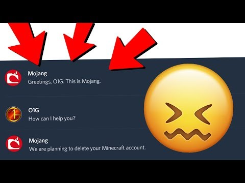 Mojang Is Actually Deleting My Minecraft Account..