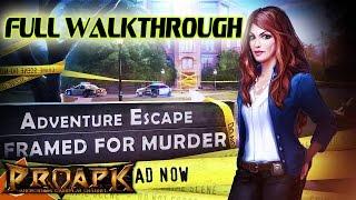 aDVENTURE ESCAPE: FRAMED Full Walkthrough - iOS/Android Gameplay