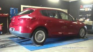 Reprogrammation Moteur Renault Megane 3 1.5 dci 110cv @ 128cv Digiservices Paris 77 Dyno