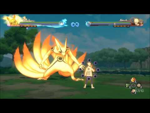 Naruto Shippuden: Ultimate Ninja Storm 4 - All Tailed Beasts | Gameplay (HD) [1080p60FPS]