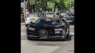 Supercars in Alderley edge (Bugatti Chiron, Bugatti Veyron, F12 x4, 650S x2, Diablo SV...