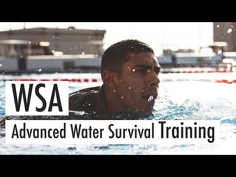 Marine Corps WSA Training (Water Survival Advanced)