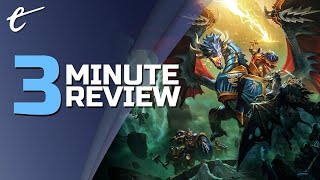 Warhammer Age of Sigmar: Storm Ground | Review in 3 Minutes (Video Game Video Review)