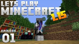iJevin Plays Minecraft - Ep. 1:  EPIC START! (1.15 Minecraft Let's Play)