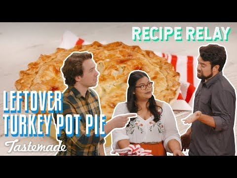Leftover Turkey Pot Pie I Recipe Relay