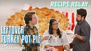 Leftover Turkey Pot Pie I Recipe Relay
