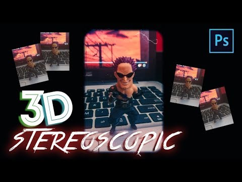 """[Photoshop Tutorial] Create """"3D STEREOSCOPIC  EFFECT"""" Using Camera Phone and Photoshop thumbnail"""