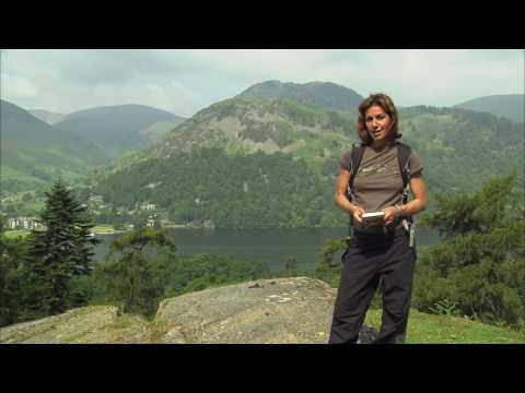Julia Bradbury walks the Wainwright Walk up Helvellyn