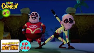 Super Duper Man - Motu Patlu in Hindi - 3D Animated cartoon series for kids - As on Nickelodeon