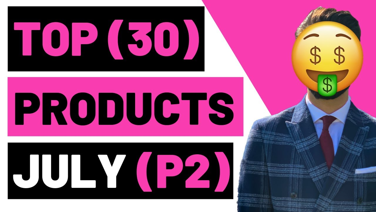 TOP (30) WINNING Products In July P2 2019 Shopify Dropshipping