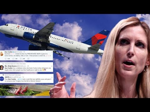 NEWS ALERT: Delta & Media Attack Ann Coulter After She Complains on Twitter
