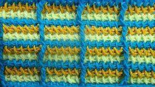 Узор в клеточку Тунисское вязание крючком Tunisian crochet pattern  51(ТОВАРЫ ДЛЯ ВЯЗАНИЯ от производителей* http://ali.pub/i9grj Хочешь получать новые видео прямо на емайл? Подписка..., 2016-11-10T08:43:07.000Z)