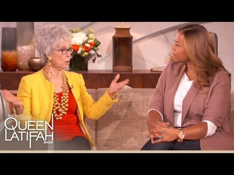 "Rita Moreno Talks About Being Brought Up As A ""Caribbean Girl"" on The Queen Latifah Show"
