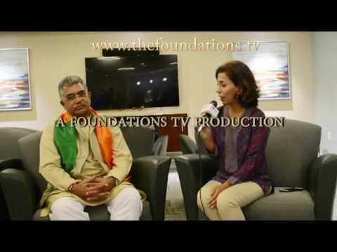 West Bengal BJP President Dilip Ghosh on The Foundations TV