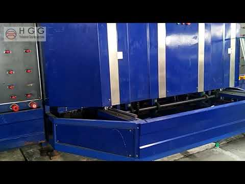 double glazing glass production line at hopson glass group