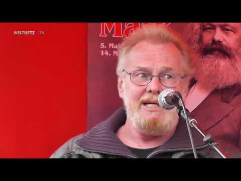 199 Jahre Karl Marx: Zeichner Burghardt Hollstein