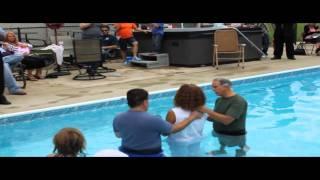 Family Baptism Ceremony