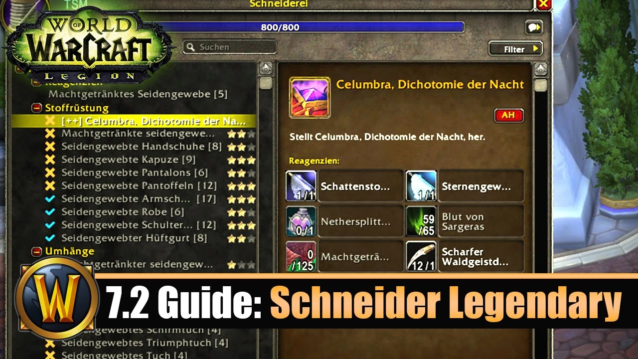 legendary crafting guide wow 7 2 guide schneider crafting legendary 2326