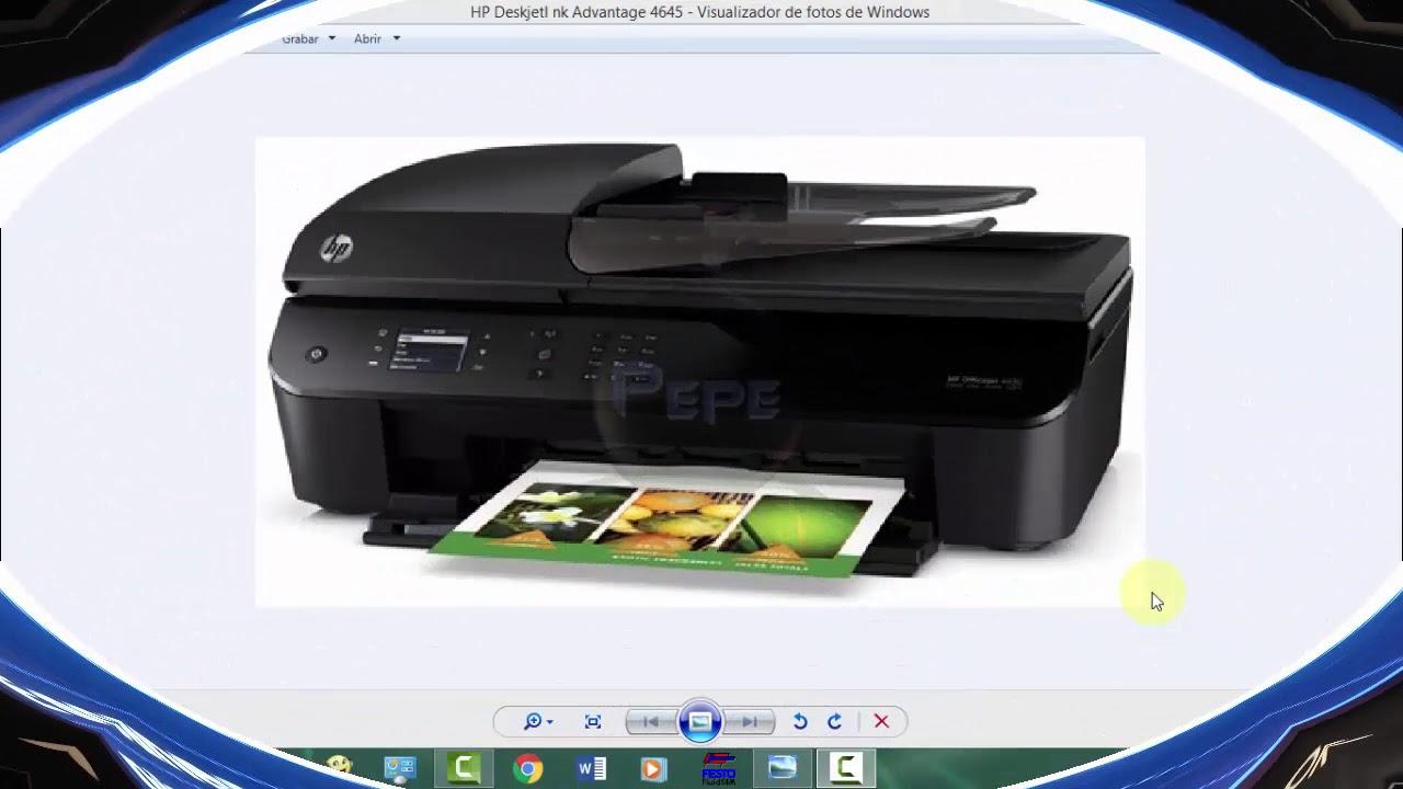 סנסציוני Cómo AGREGAR/CONFIGURAR una IMPRESORA HP Deskjet Ink Advantage DK-54