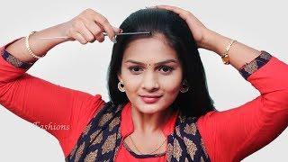 New latest self juda hairstyle | everyday hairstyles | cute hairstyles | new hairstyle