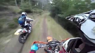 British Ktm Dirtbikes & Yamaha Yfz450R Atv Spanish Mountains