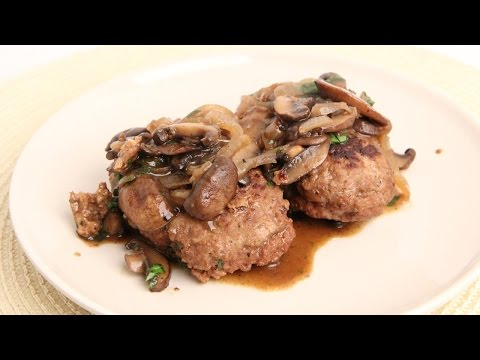 Homemade Salisbury Steaks Recipe - Laura Vitale - Laura in the Kitchen Episode 886