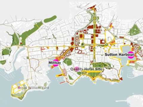 National Urban Design Awards 2017 -  Plymouth City Centre and Waterfront Masterplans