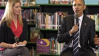 Obama Pushes Equal Pay, Child Care in NC